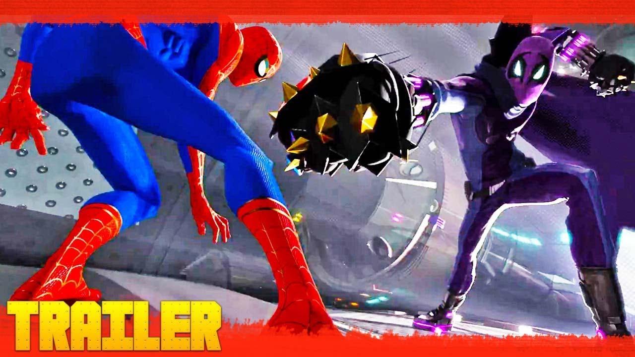 Spider Man Un Nuevo Universo 2018 Tráiler Oficial 2 Español Latino Youtube