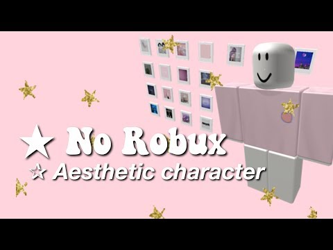 Aesthetic Roblox Character With No Robux Part 1 Youtube