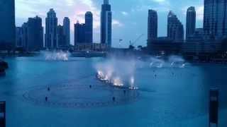 burj khalifa fountain Jacky Cheung - Wen Bie (Kiss Goodbye)