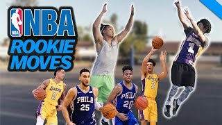 NBA SIGNATURE MOVES 12: 2017-18 ROOKIE EDITION