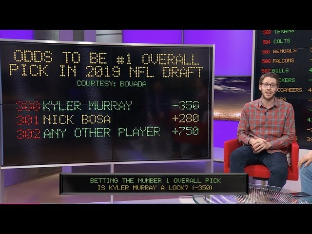 NFL Draft Betting Guide | The Line