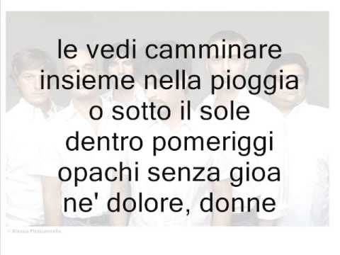 Neri Per Caso - Donne [On Screen Lyric]