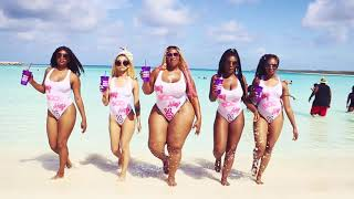 ImJustAngie in the Bahamas with her new Hey Boo Hey Models 2