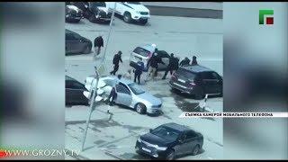 Инцидент полицейских и местного жителя в городе Аргун