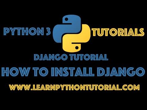 Django Tutorial: How To Install Django 1.9