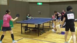 第89回 群馬県ベテラン卓球強化リーグ大会 女子50歳未満の部