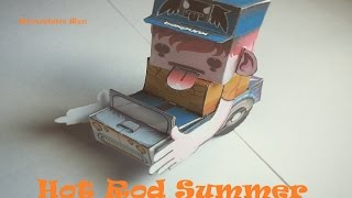 Paper Toys, Hot Rod Summer.