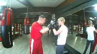 обучение на первой тренировки  Тренер Сергей Земеров