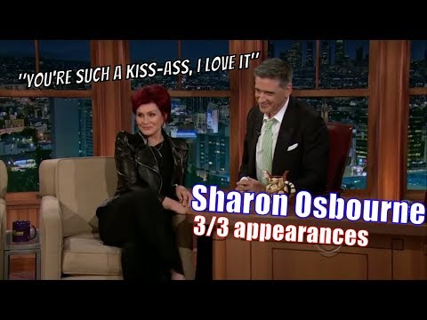 Sharon Osbourne - She Is Sick & Tired Of Idol & X Factor - 3/3 Appearances On Craig Ferguson