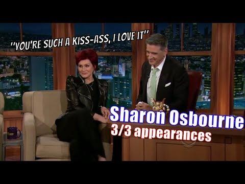 Sharon Osbourne - She Is Sick & Tired Of Idol & X Factor - 3/3 Appearances On Craig Ferguson