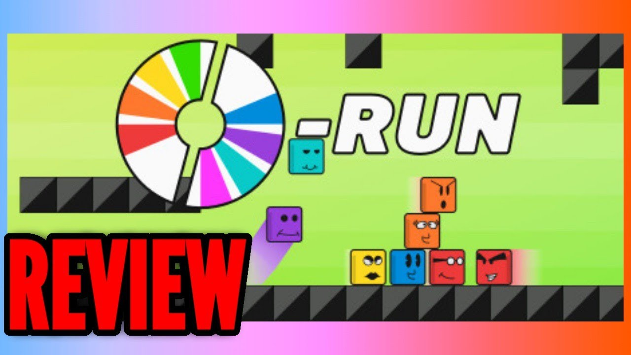 CD RUN Review - Partygame local multiplayer