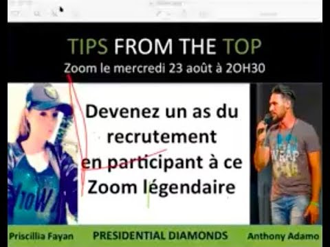 "Tips from the Top ""Devenez un as du recrutement"""