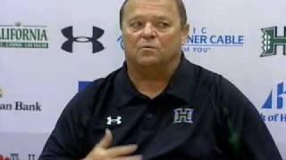 Raw Video: Coach Mack On Win, Running Game