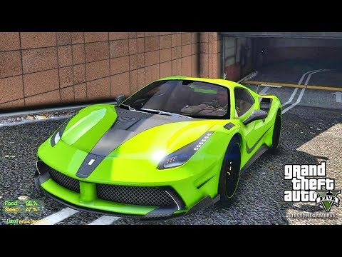 GTA 5 MOD #156 LET'S GO TO WORK (GTA 5 REAL LIFE MOD) WORK AND NEW SCHOOL
