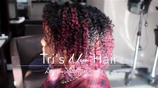 Tri's NEW Hair | Darren Scott Experience