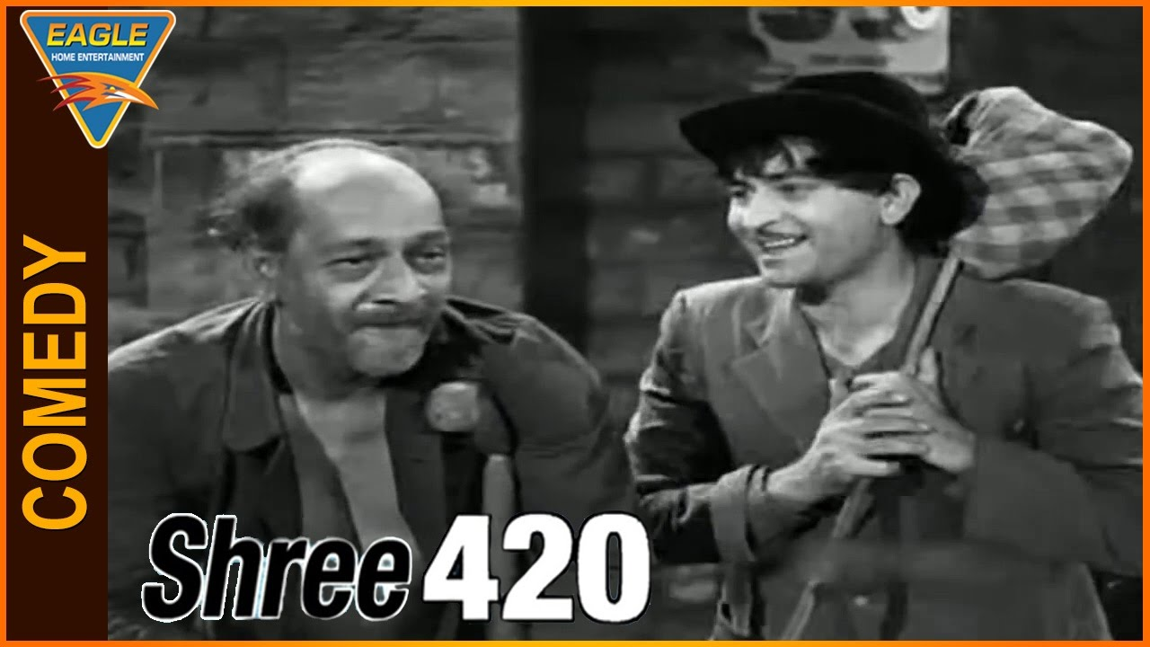 shree 420 hindi movie raj kapoor very funny comedy