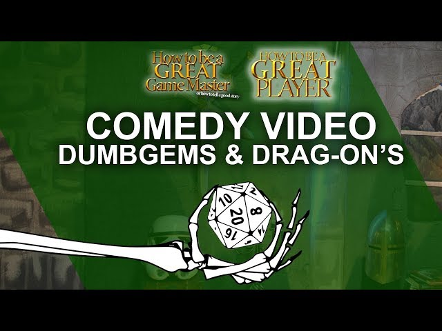 Dumbgems &  Drag-on's - An epic Dnd Rpg inspired comedy animation