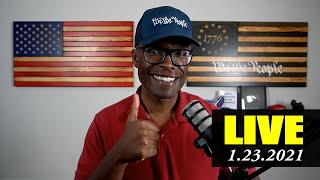 🔴 ABL LIVE: National Guard, Amazon, Hank Aaron, Larry King, Mask Mandate Hypocrisy, and more!