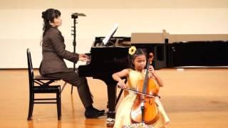 15年10月11日Allegro passionato Saint-Saëns cellosolo Maya Mori(8Jahre)