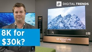LG Z9 88-inch 8K OLED Hands-On Review | Simply Superb