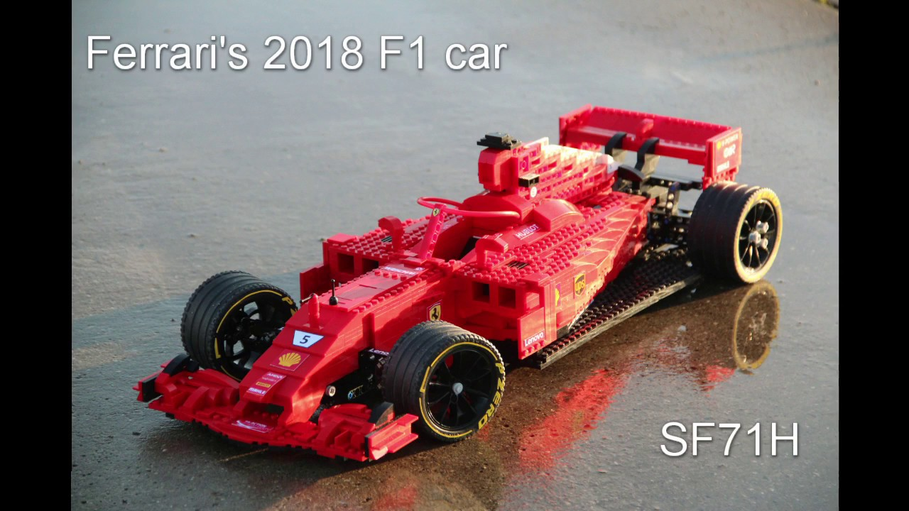 lego ferrari sf71h moc 2018 ferrari f1 car youtube. Black Bedroom Furniture Sets. Home Design Ideas