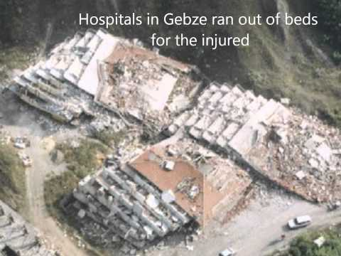 Izmit Earthquake - Effects