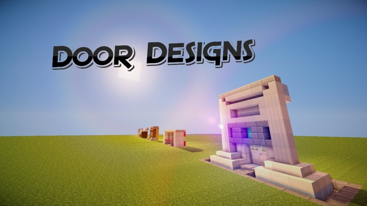 10 Minecraft Doorway Designs Minecraft Shaders