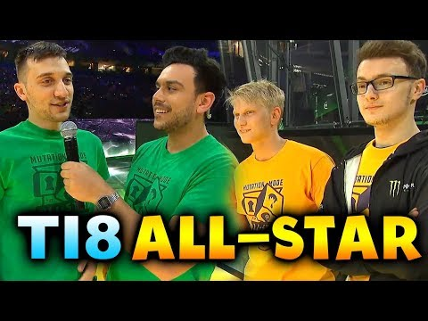 TI8 ALL STAR MATCH - MUTATION MODE! - THE INTERNATIONAL 2018 DOTA 2