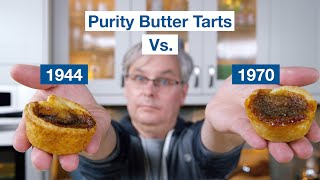 1944 Purity Butter Tarts Vs. 1970 Purity Butter Tarts Recipe || Glen & Friends Cooking