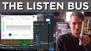 Using the Listen Bus in Studio One 5 with Sonarworks Reference 4