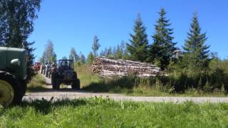 Traktorimuseon eloajelut  16.8.2015 Kiuruvesi.