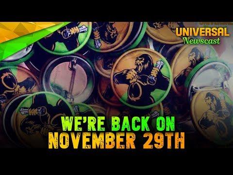 Channel Announcement - Universal Studios News 06/11/2017