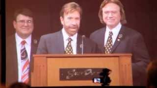 Chuck Norris - The Wieland Norris Award - UFAF ITC - 2012