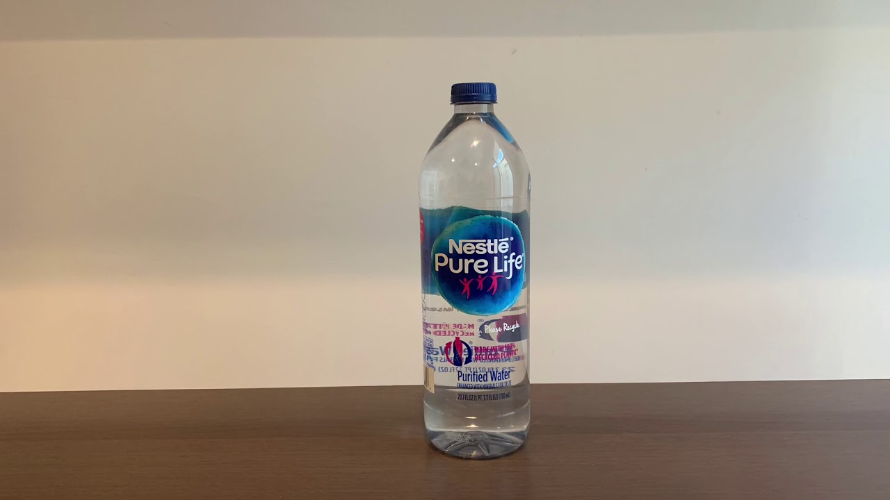 Nestle PureLife Purified #Water test - pH and TDS - YouTube