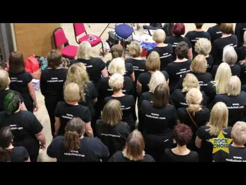Rock Choir at Abbey Road - The story of the day