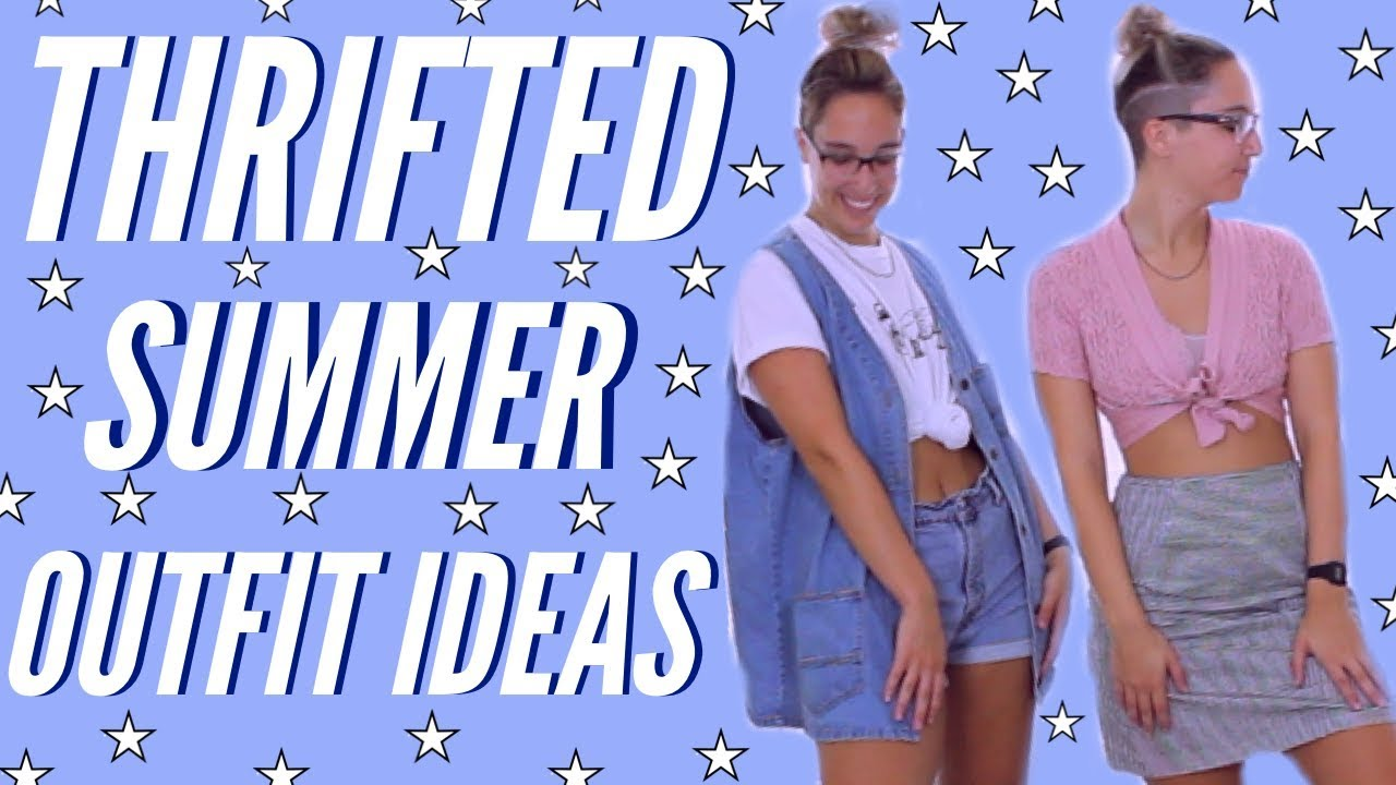 ☆ THRIFTED SUMMER OUTFIT IDEAS ☆