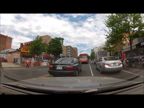 Driving Through Washington D.C. and Silver Spring, MD