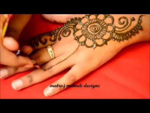 Easy Simple Arabic Mehndi Designs For Hands Eid Mehndi Design