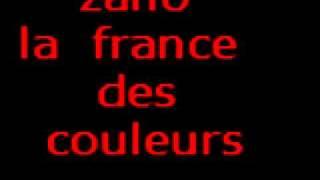 ZAHO LA FRANCE DES COULEURE  BAY(°°° SMAIL°°°)