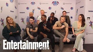 'The Predator': Sterling K. Brown On The Film's Sense Of Humor | SDCC 2018 | Entertainment Weekly