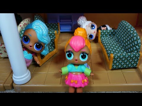 LOL SURPRISE DOLLS Eager To Play Hide And Seek!!