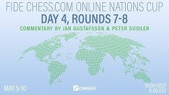 Online Nations Cup Day 4, Rounds 7-8 | Peter Svidler & Jan Gustafsson