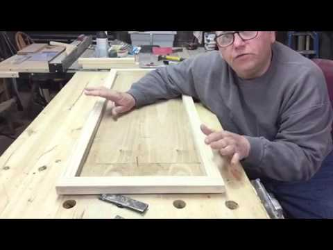 Picture frame for a large puzzle by Bob Lee\'s woodshop - YouTube