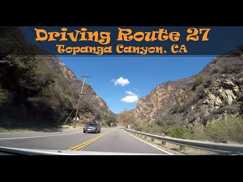 #47  Driving Route 27 (1/2) Topanga Canyon, CA