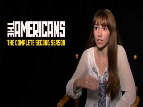 The Americans Season 2  Holly Taylor On Working With Keri And Matthew
