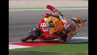 Inilah Skill penyelamatan Marq Marquez dari crash yang tidak dimiliki rider lain