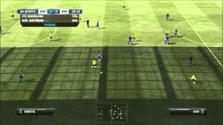 FIFA 12 PS3 Demo Gameplay - FC Barcelona vs. Borussia Dortmund