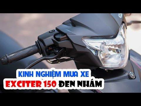 Hướng dẫn mua xe Exciter 150 Matte Black ▶ Bỏ tiền mua Đen Nhám, phải là Đen Nhám!
