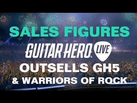Guitar hero sales figures
