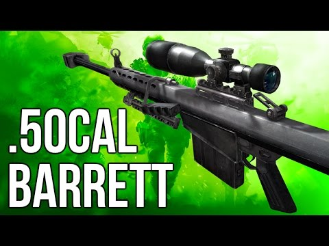 MWR In Depth: Barrett .50cal Sniper Rifle